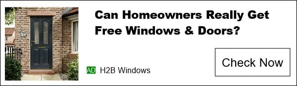 H2B Windows LTD advert banner