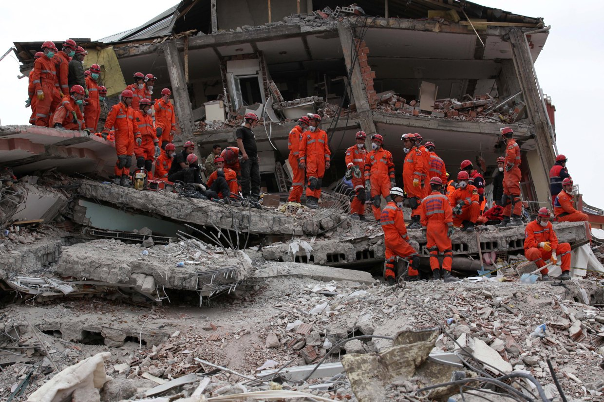 Turkish earthquake rescue