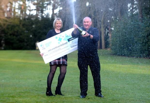 Lottery Winners John & Allison Mcdonald