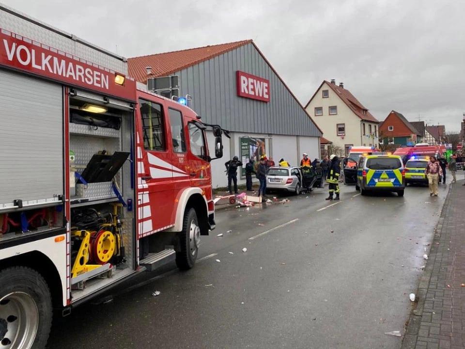 Car crash in Volkmarsen