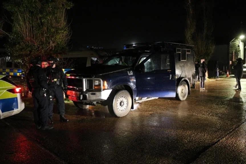 Police raid on Essex farm