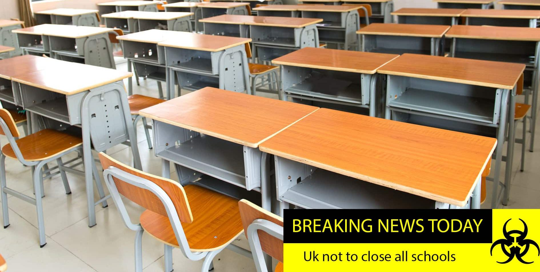 PM: UK will not be closing all schools