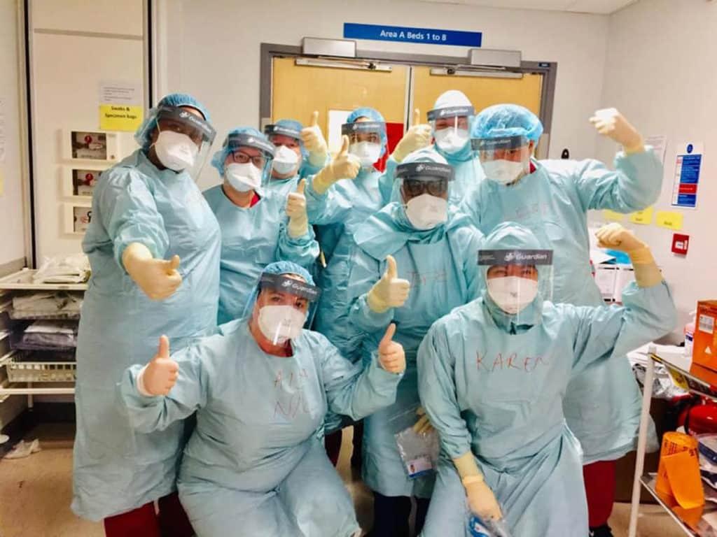 NHS nurses in the UK