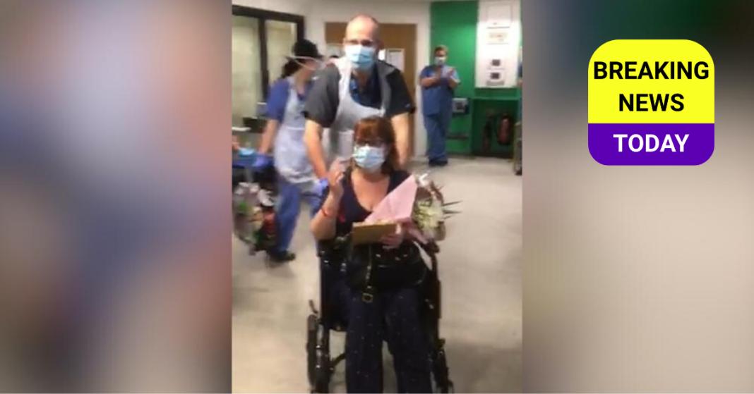 NHS Worker in wheelchair