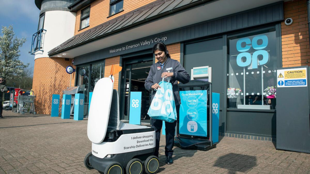 Shopping Robots Co-op