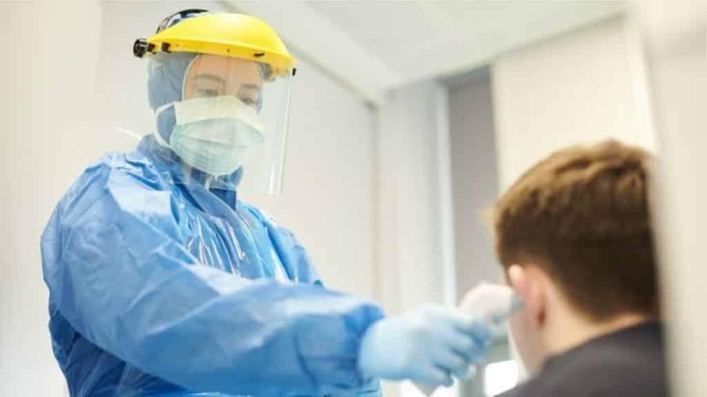 Nurses forced to wear bin bags as PPE 'test positive for coronavirus'