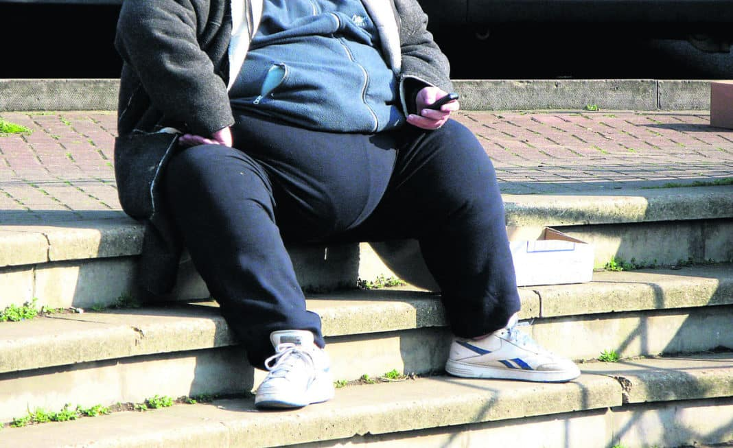 Obese people in Britain are 'ten times more likely to die of coronavirus'
