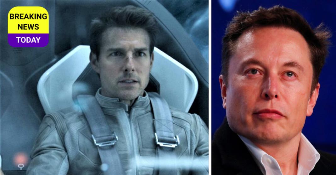 Elon Musk and tom cruise