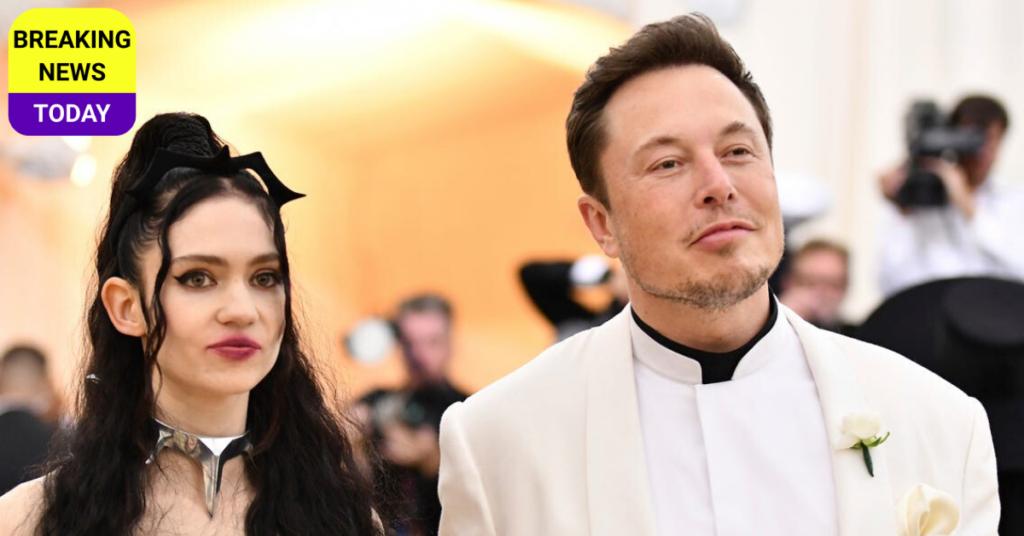 Elon Musk and Girlfriend