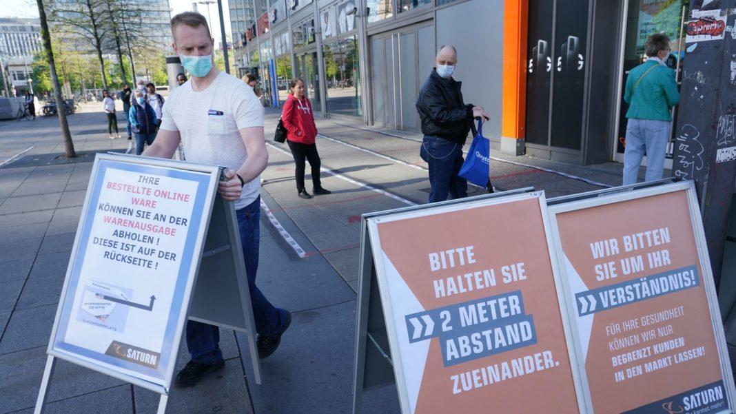 Germany to reopen shops as lockdown is eased says Angela Merkel