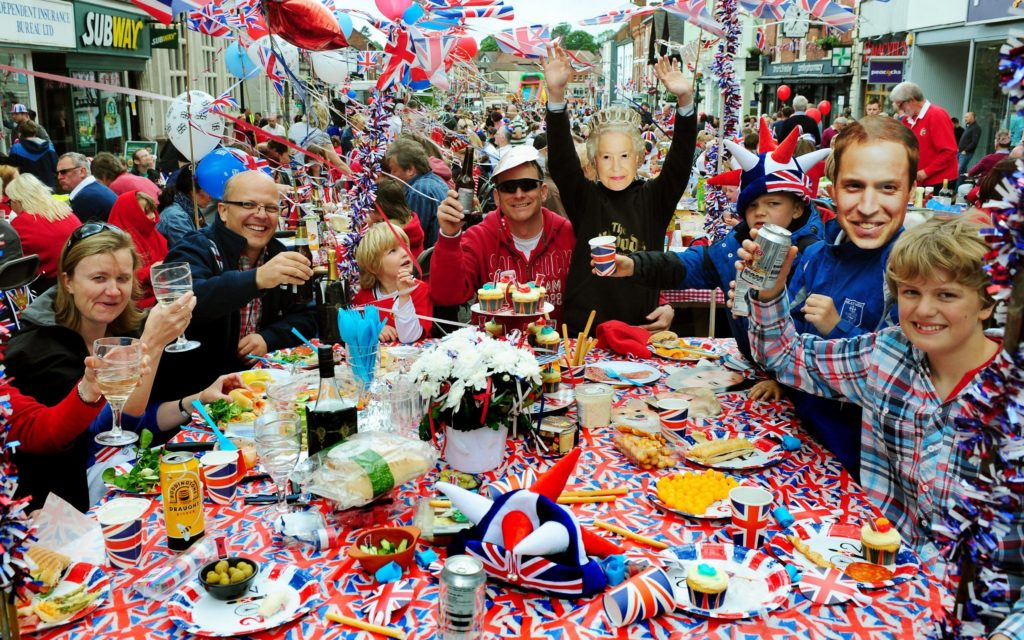 Street party celebrations