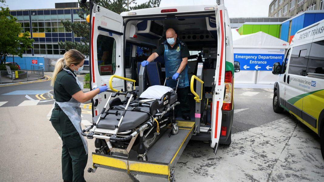 UK coronavirus death toll hits 35,704 after 363 more people die