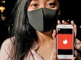 Tinder app mask