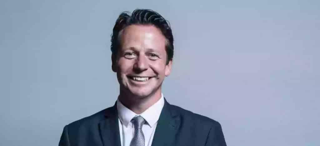 Tourism Minister Nigel Huddleston