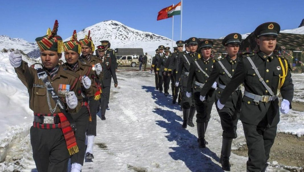 India soldiers killed in clash with Chinese forces