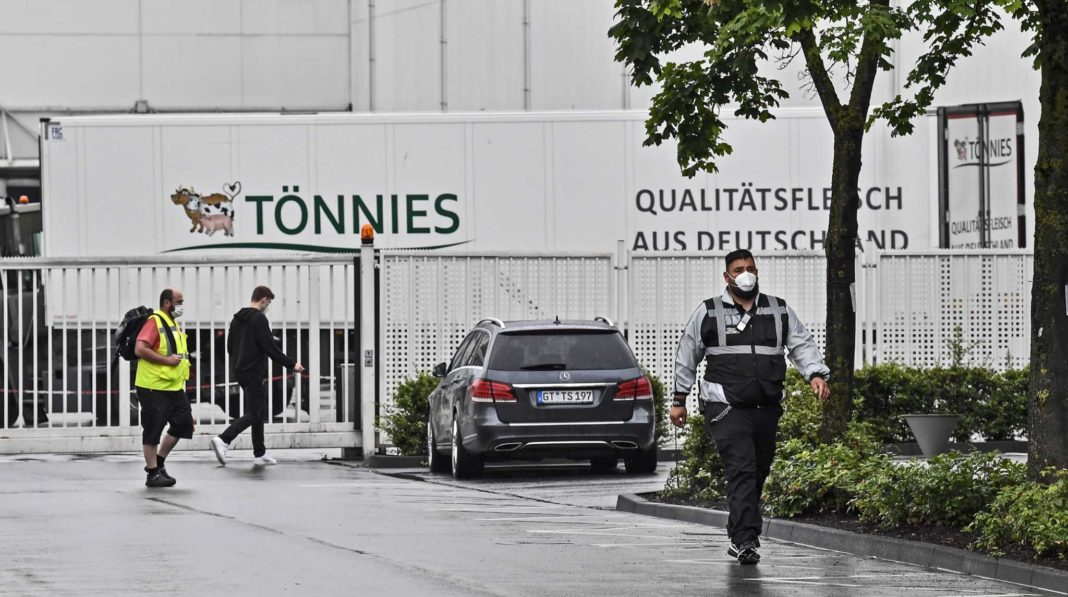 Germany outbreak sparks new local lockdown