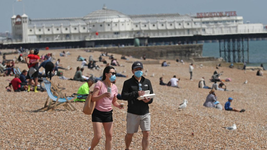 Wednesday UK's hottest day of the year so far as heatwave continues