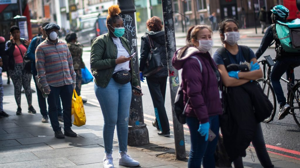 Royal Society chief: not wearing masks should be as taboo as drink-driving
