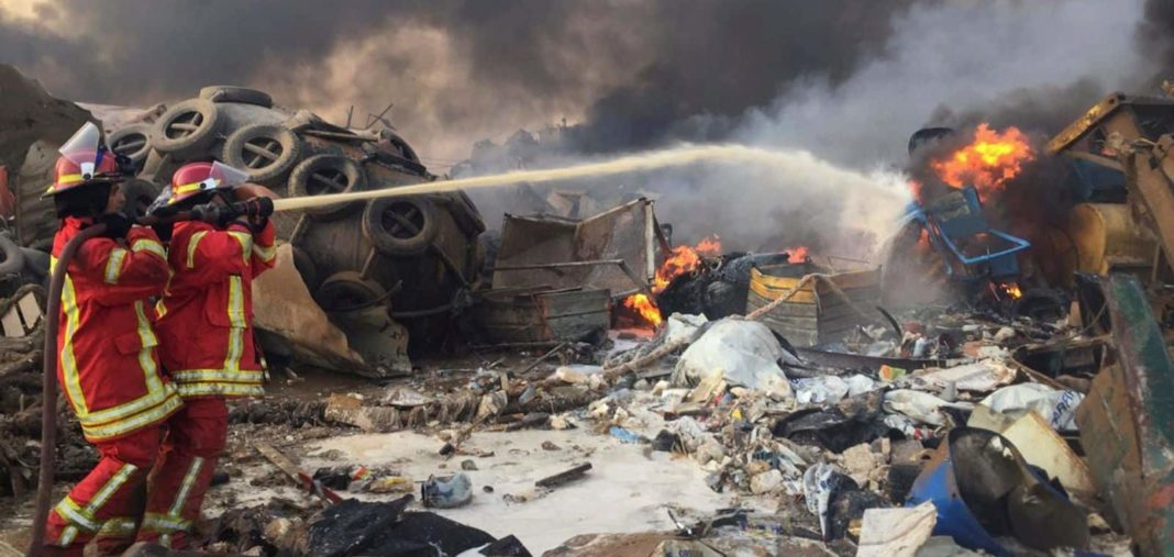 At least 100 dead and 4,000 injured after 'ammonium nitrate blast'
