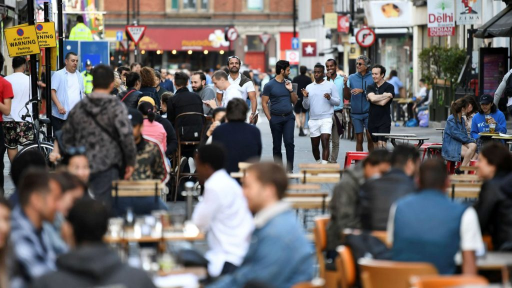 Social gatherings of over six people to be banned in England from Monday