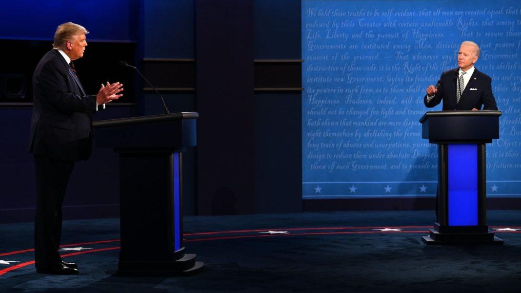 Biden and Trump clash on coronavirus and race