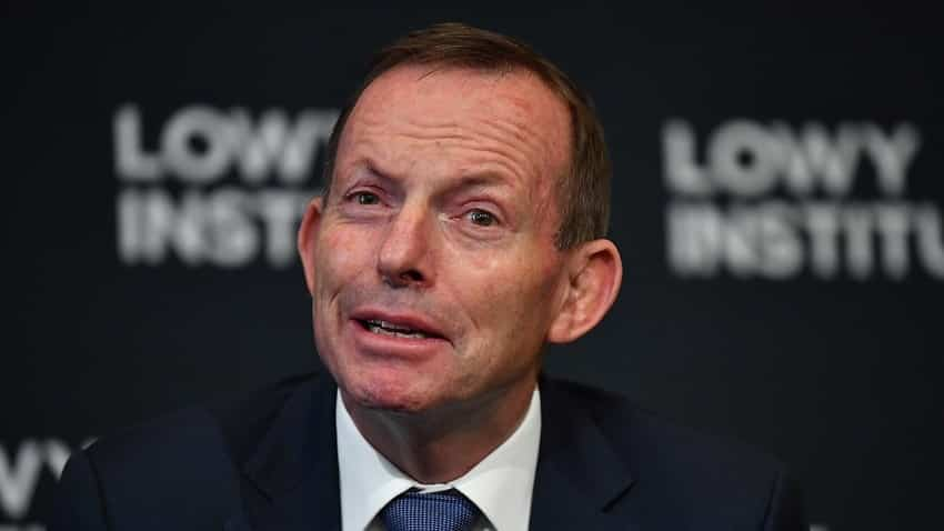 Hancock defends 'homophobic misogynist' Abbott over trade role