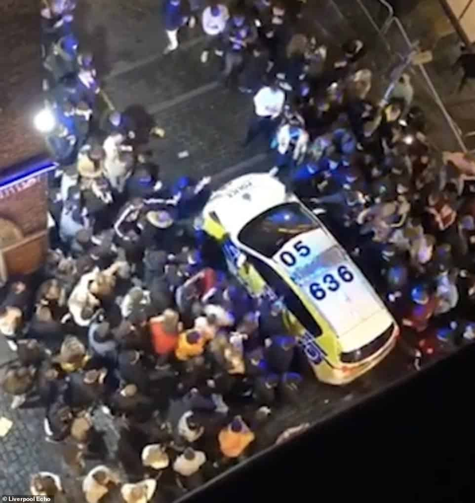 Liverpool mayor says partying crowds have 'shamed' the city