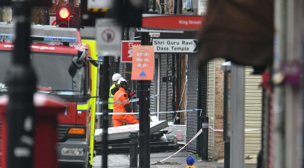 People feared dead after explosion at shop in west London