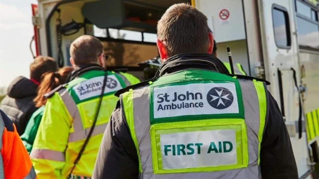 St John Ambulance to train thousands of volunteers for COVID-19 vaccine