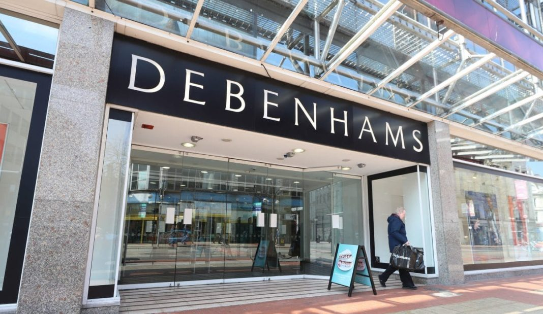 Debenhams to to go into liquidation with 12,000 jobs at risk