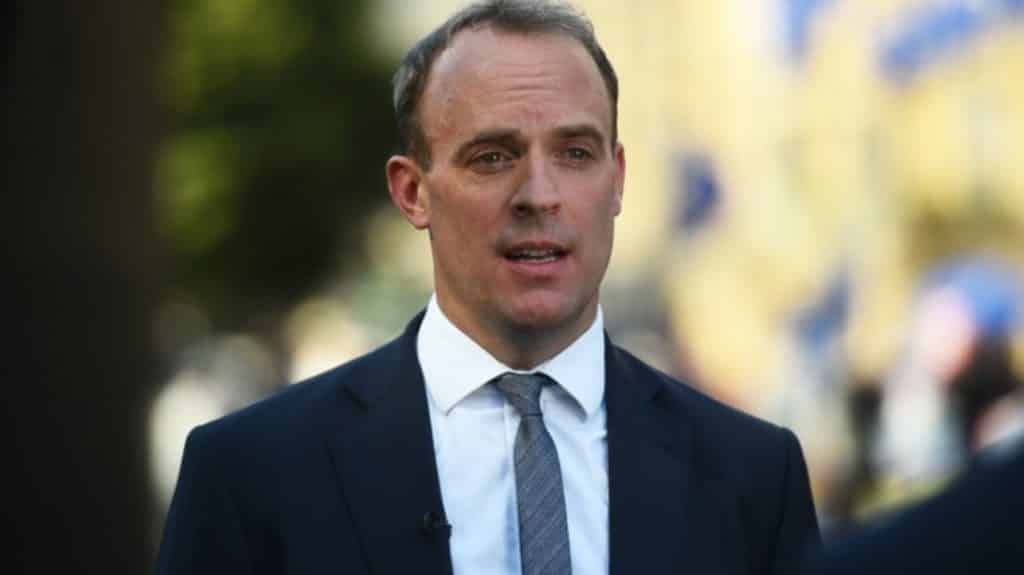 Dominic Raab says Sunday's deadline is 'a point of finality' for trade talks