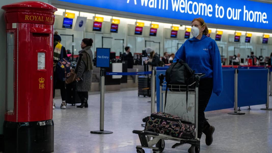 Britons may be banned from European mainland under COVID rules