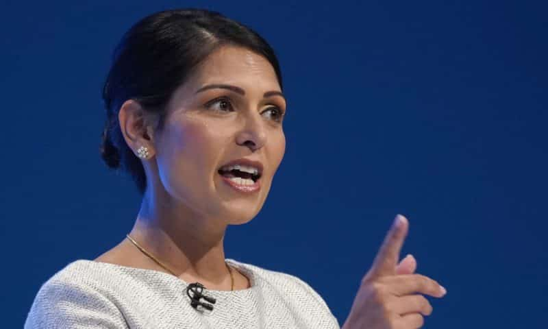 Priti Patel: Trump's words 'directly led' to violence