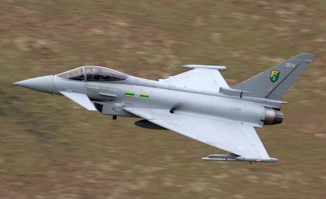 Sonic boom after RAF jets scrambled to intercept private plane