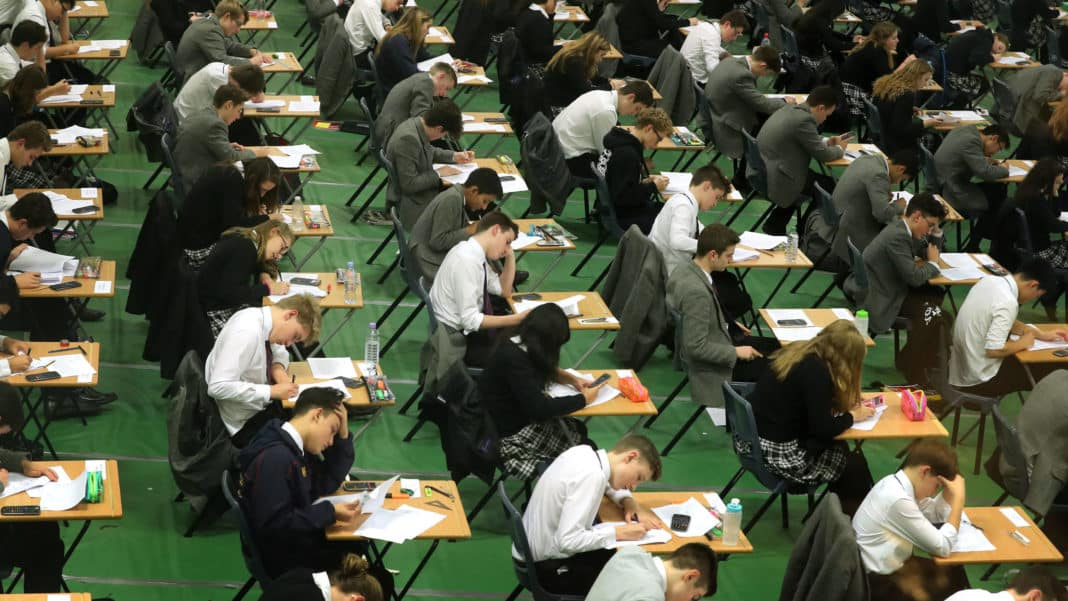 Teacher assessments to replace GCSE A-level exams in England
