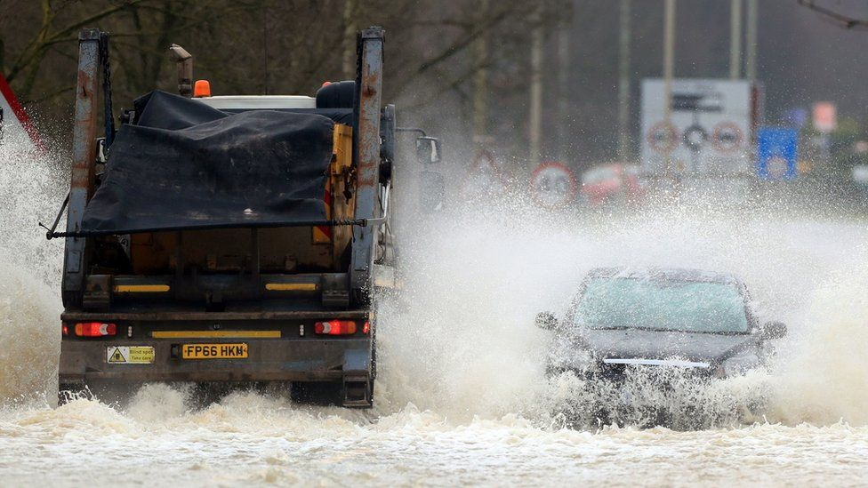 Widespread Flooding predicted in parts of England due to Storm Christoph