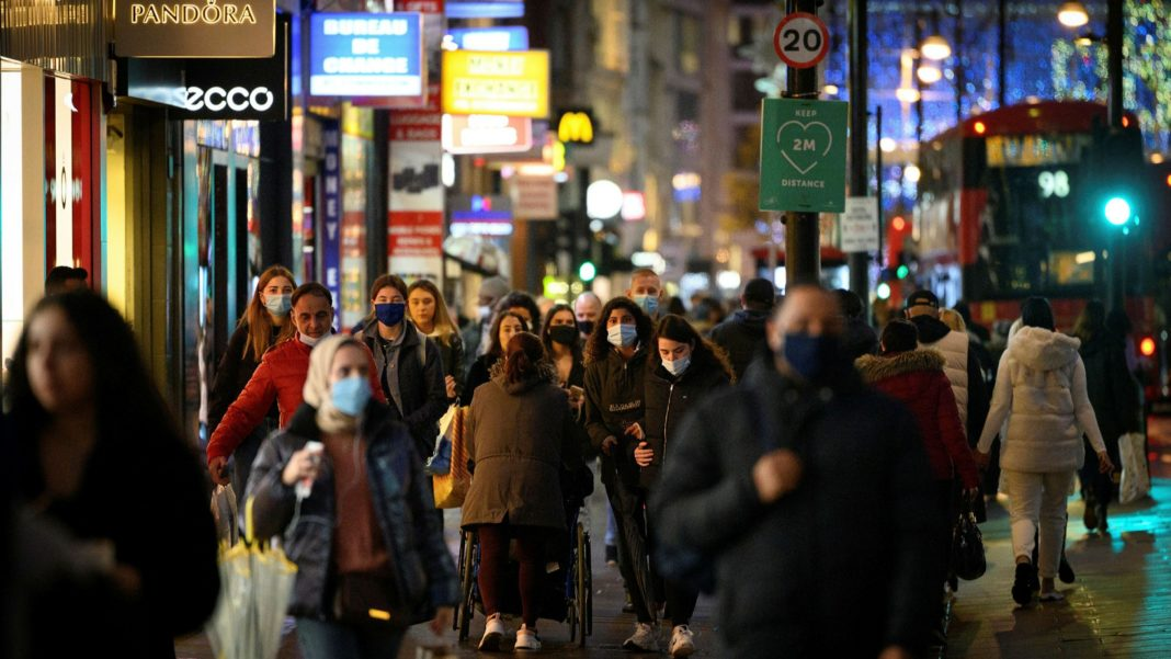 Retail could be able to reopen for business in the UK from the 12th of April