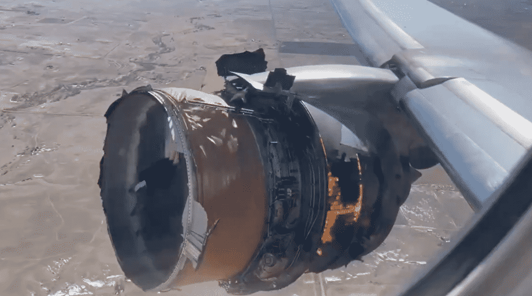 Boeing 777 planes grounded after engine failure in the US
