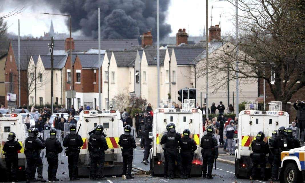 Northern Ireland ministers condemn 'deplorable' violence