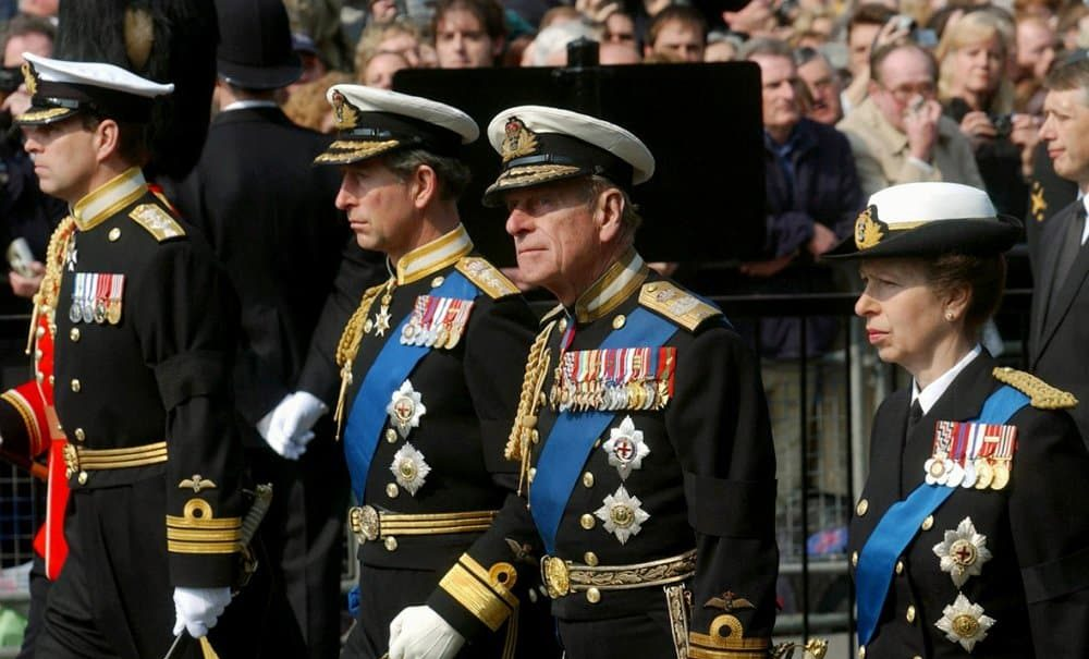 Royals expected to wear suits at Prince Philip's funeral, not military uniform