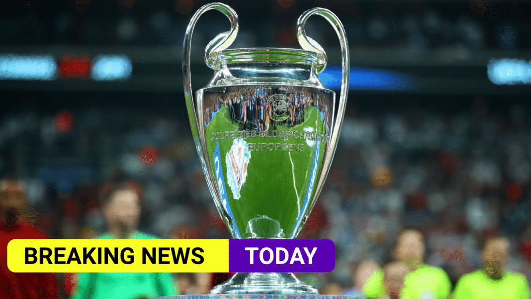 Champions League final moved to Porto, with 12,000 fans in attendance
