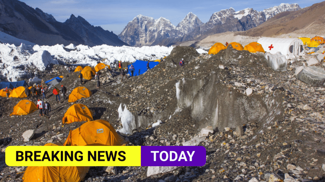 Coronavirus cases at Everest base camp raise fears of serious outbreak