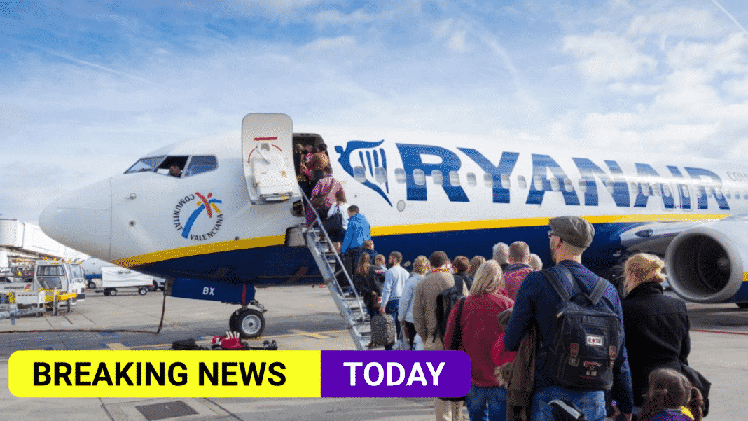 Ryanair and Manchester Airports take legal action over travel system