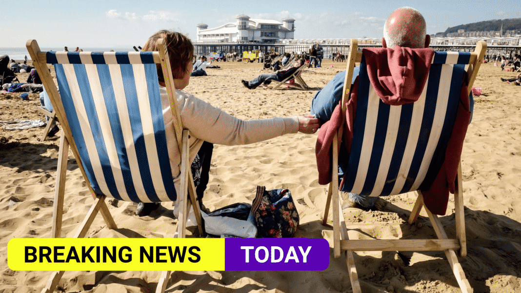 Hottest temperature of the year recorded after bank holiday sunshine