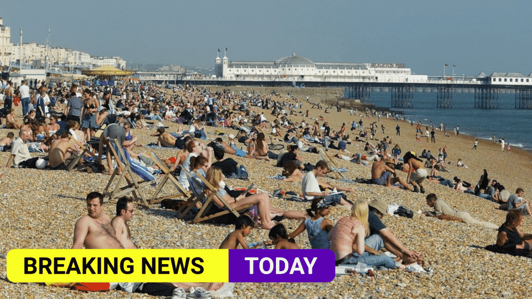 UK Heatwave could hit the country this weekend
