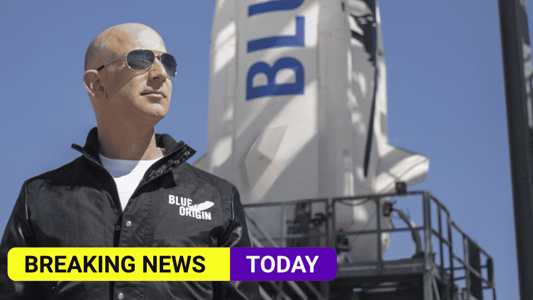 Jeff Bezos and his brother are set to fly to space with Blue Origin