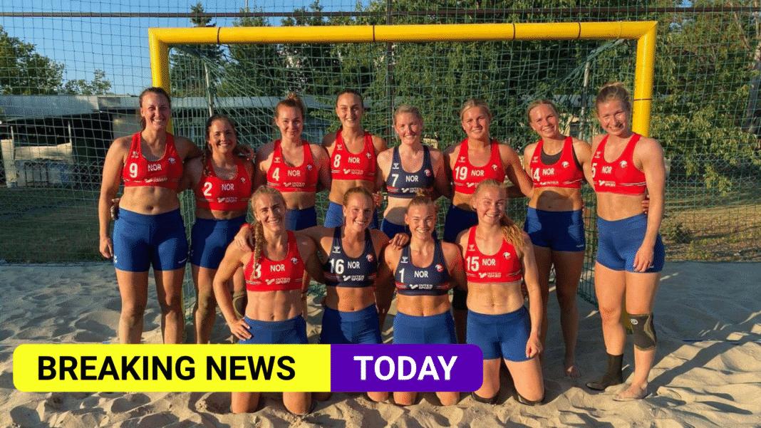 Norway beach handball team fined for wearing shorts not bikini bottoms