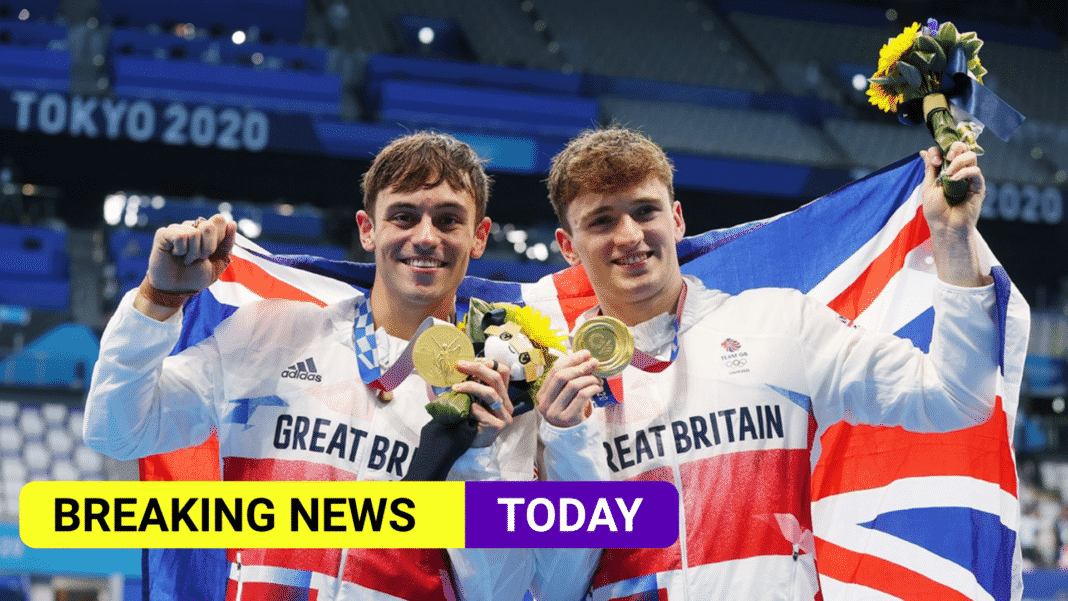 Tom Daley and Matty Lee win the gold medal in synchronised 10m platform