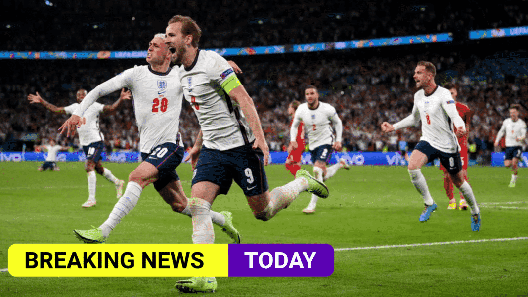 Gareth Southgate's England team make the Euro final against Italy