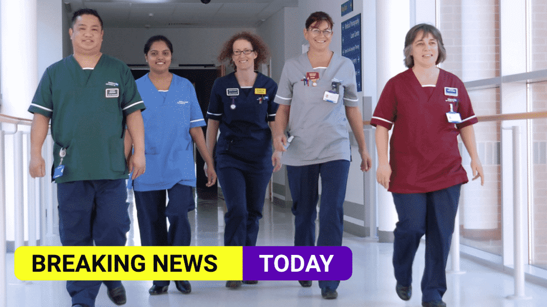 England NHS staff get pay rise of 3% after 'unprecedented year'